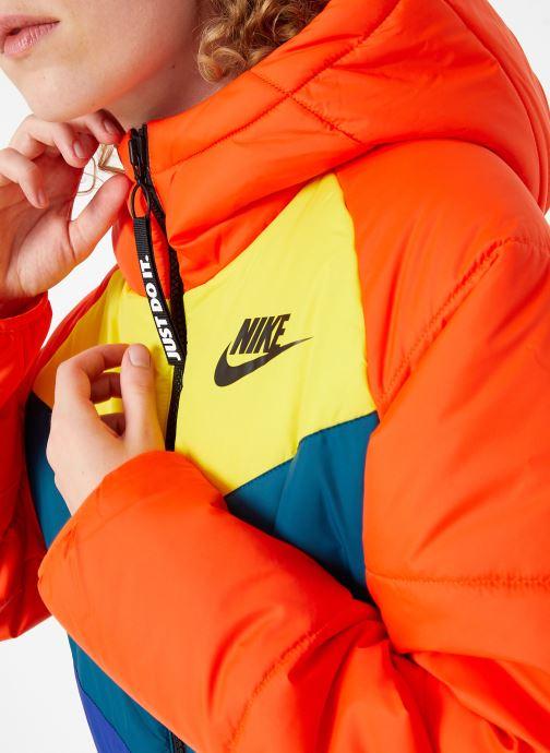 Kleding Nike Blouson Windrunner Femme Nike Sportswear Rood voorkant