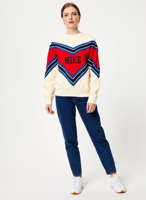 Vêtements Nike Sweat Femme Nike Sportswear Beige vue bas / vue portée sac