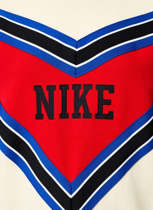 Vêtements Nike Sweat Femme Nike Sportswear Beige vue face