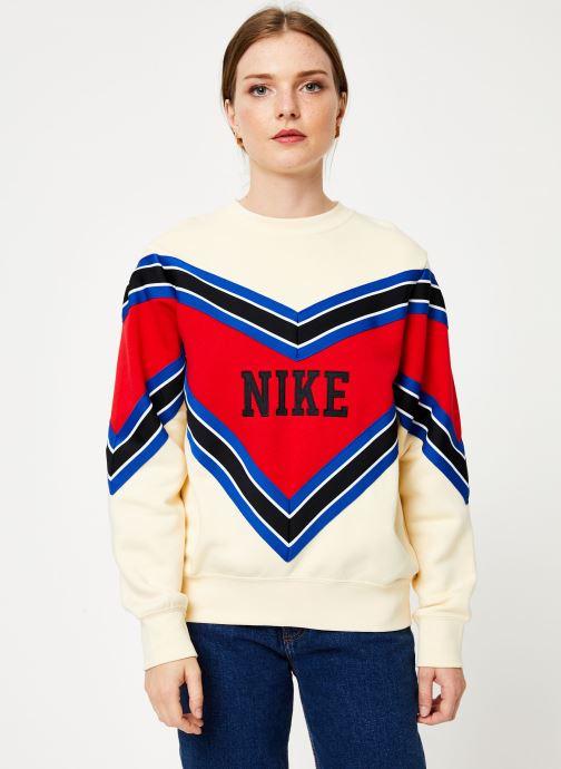 Vêtements Nike Sweat Femme Nike Sportswear Beige vue détail/paire