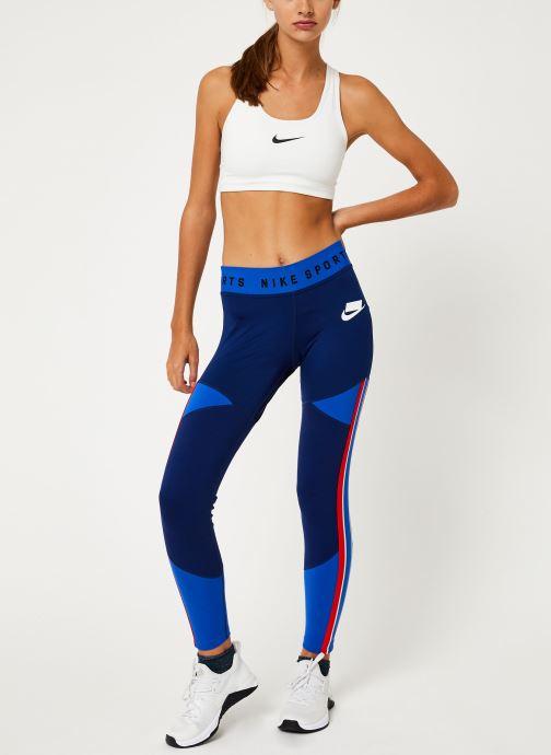 Vêtements Nike Collant femme Nike Sportswear Bleu vue bas / vue portée sac