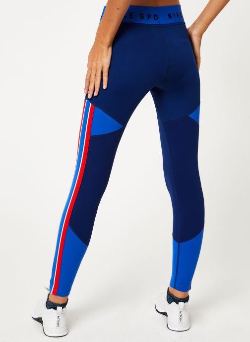 Vêtements Nike Collant femme Nike Sportswear Bleu vue portées chaussures