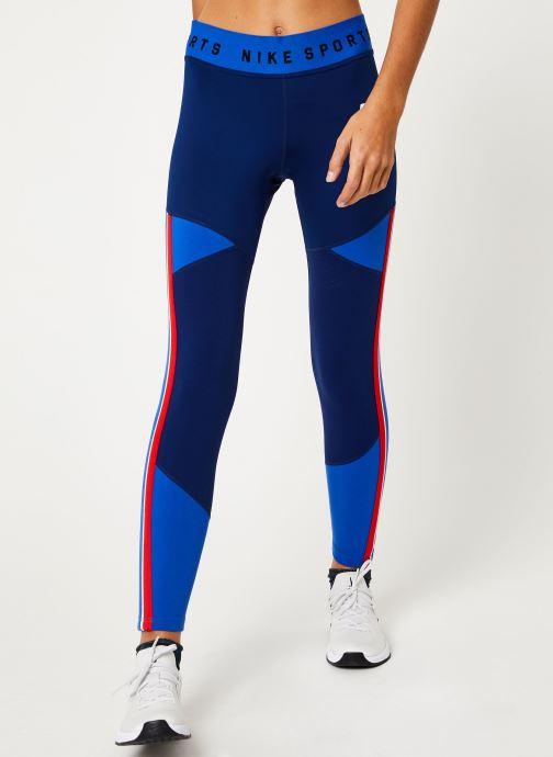 Vêtements Nike Collant femme Nike Sportswear Bleu vue détail/paire