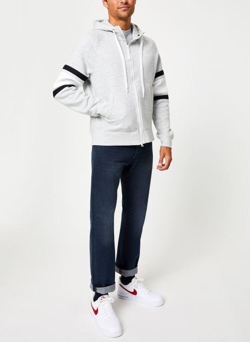 Vêtements Nike Veste zippée homme Nike Sportswear Air Gris vue bas / vue portée sac