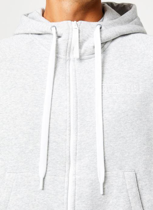 Vêtements Nike Veste zippée homme Nike Sportswear Air Gris vue face