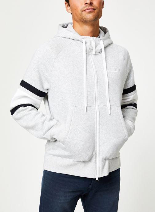 Vêtements Nike Veste zippée homme Nike Sportswear Air Gris vue droite