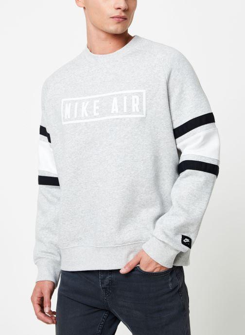 Kleding Nike Sweat homme Nike Sportswear Air Grijs detail