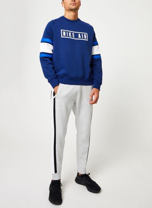Vêtements Nike Sweat homme Nike Sportswear Air Bleu vue bas / vue portée sac