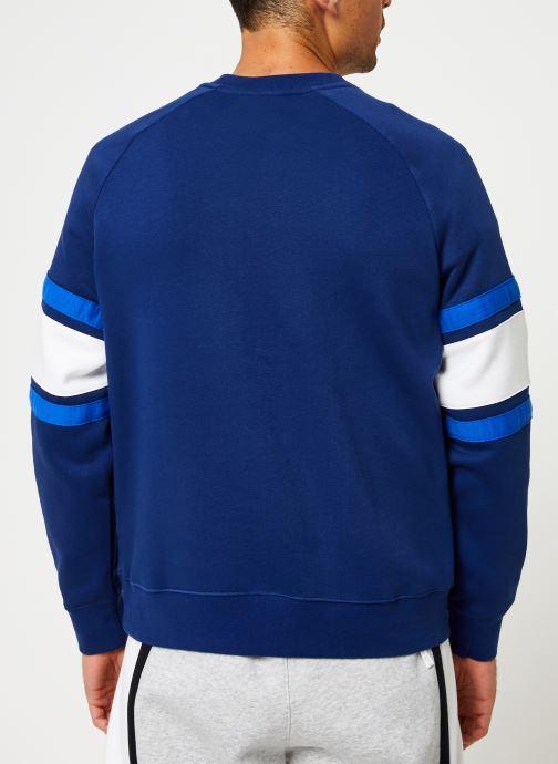Vêtements Nike Sweat homme Nike Sportswear Air Bleu vue portées chaussures