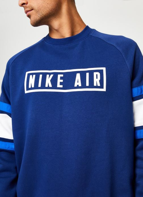 Kleding Nike Sweat homme Nike Sportswear Air Blauw voorkant