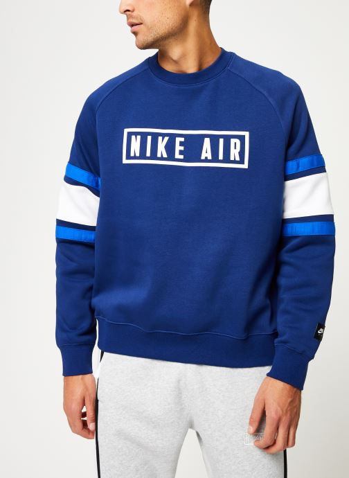 Vêtements Nike Sweat homme Nike Sportswear Air Bleu vue droite