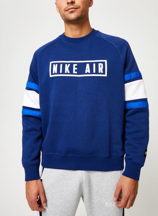 Kleding Nike Sweat homme Nike Sportswear Air Blauw detail