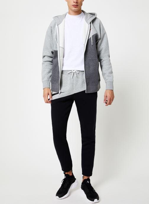 Tøj Nike Pantalon Homme Nike Sportswear Swoosh Grå se forneden