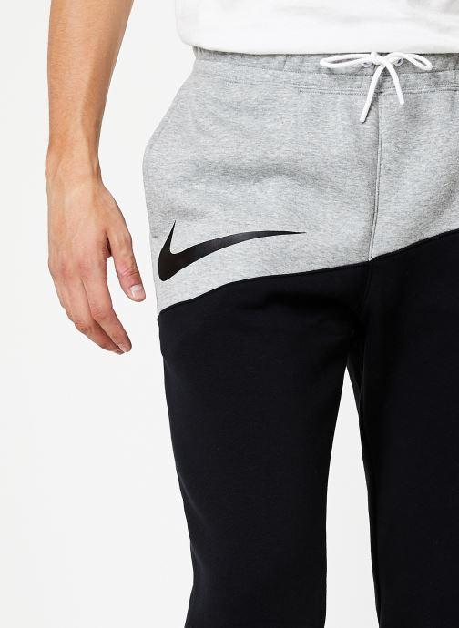 Tøj Nike Pantalon Homme Nike Sportswear Swoosh Grå se forfra
