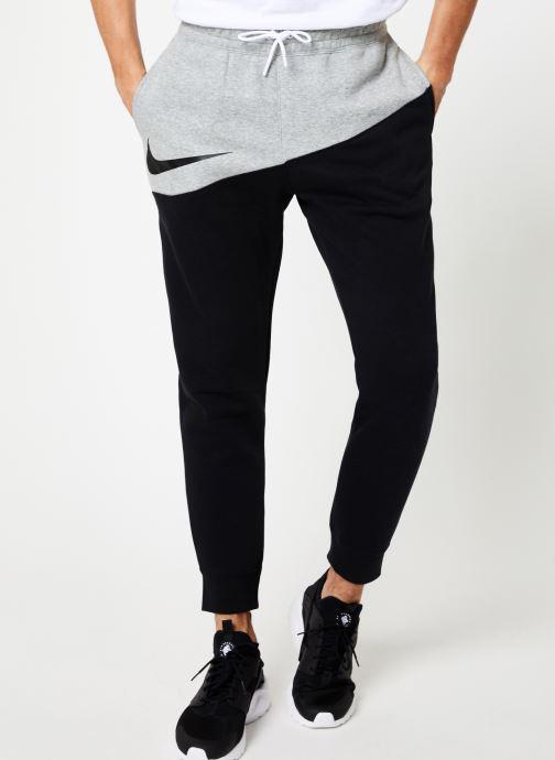 Vêtements Nike Pantalon Homme Nike Sportswear Swoosh Gris vue détail/paire