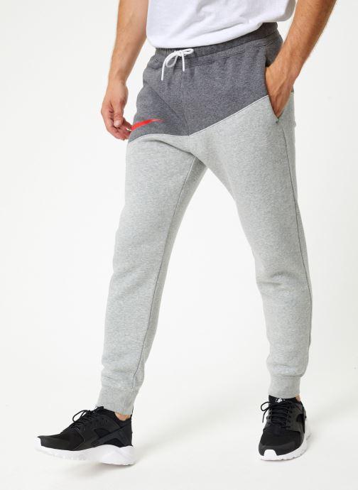 Kleding Nike Pantalon Homme Nike Sportswear Swoosh Grijs detail