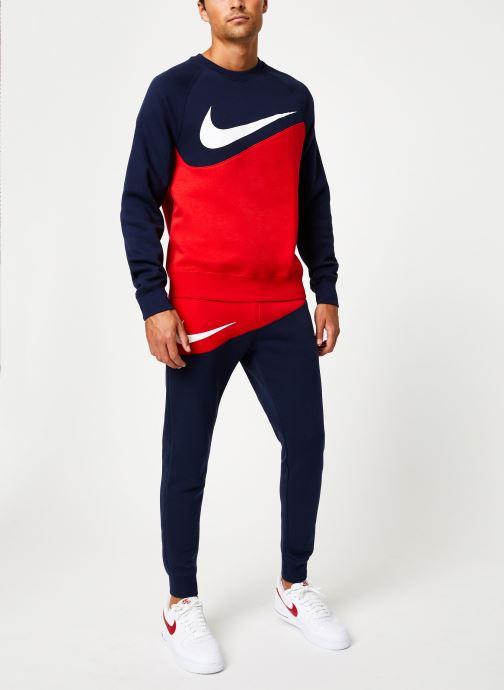 Vêtements Nike Pantalon Homme Nike Sportswear Swoosh Bleu vue bas / vue portée sac