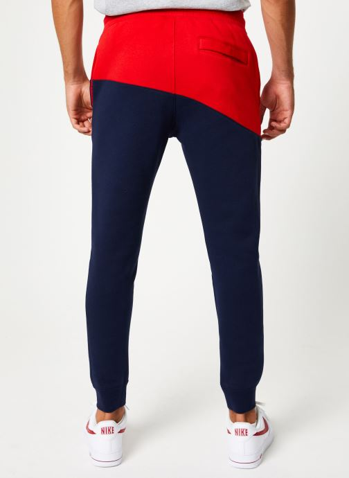 Vêtements Nike Pantalon Homme Nike Sportswear Swoosh Bleu vue portées chaussures
