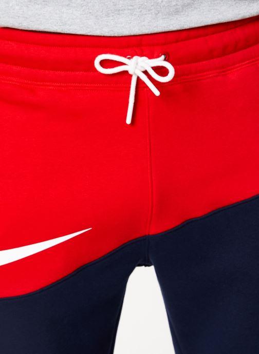 Vêtements Nike Pantalon Homme Nike Sportswear Swoosh Bleu vue face