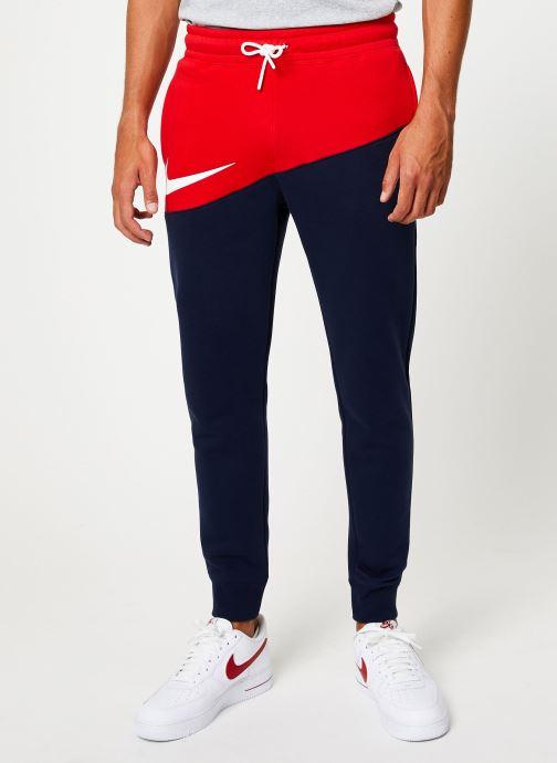 Kleding Nike Pantalon Homme Nike Sportswear Swoosh Blauw detail