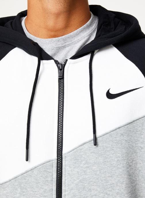 Kleding Nike Veste zippée Homme Nike Sporstwear Swoosh Grijs voorkant