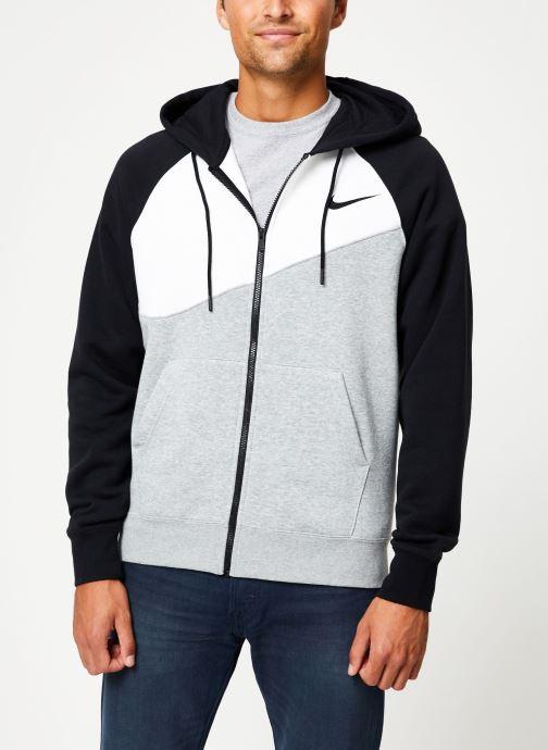 Kleding Nike Veste zippée Homme Nike Sporstwear Swoosh Grijs rechts