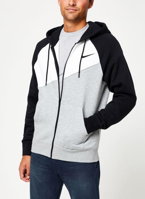 Kleding Nike Veste zippée Homme Nike Sporstwear Swoosh Grijs detail