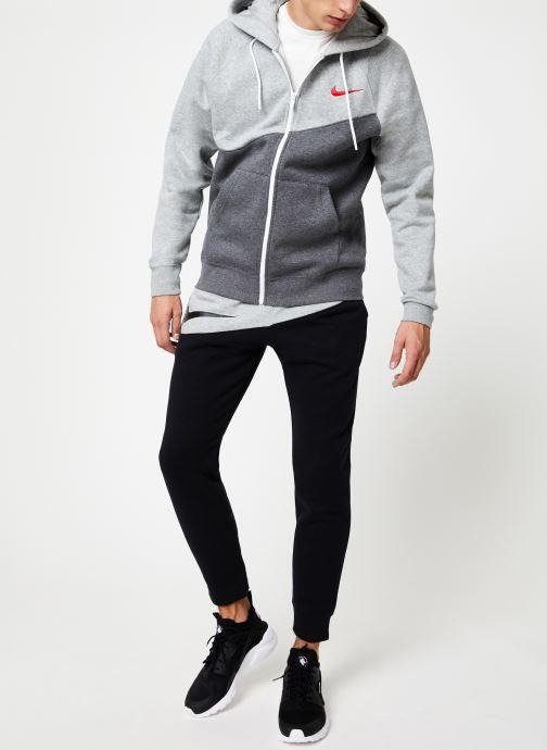 Vêtements Nike Veste zippée Homme Nike Sporstwear Swoosh Gris vue bas / vue portée sac