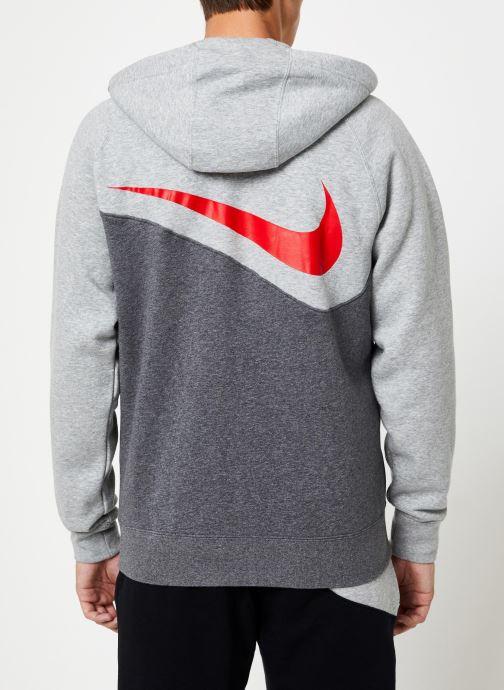 Tøj Nike Veste zippée Homme Nike Sporstwear Swoosh Grå se skoene på