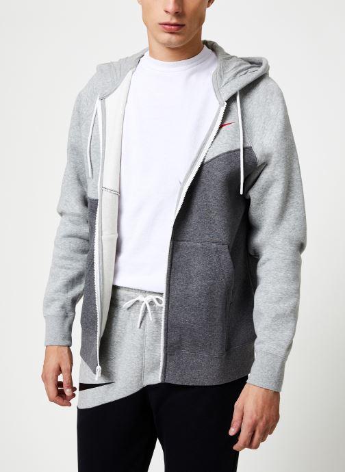 Vêtements Nike Veste zippée Homme Nike Sporstwear Swoosh Gris vue détail/paire
