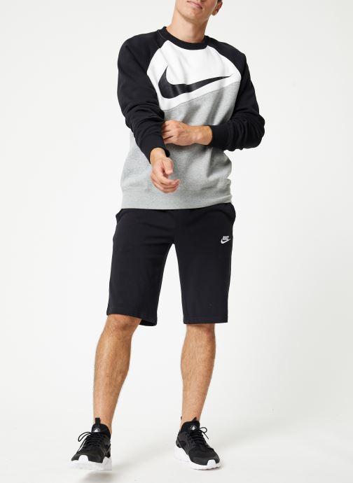 Vêtements Nike Sweat Homme Nike Sporstwear Swoosh Gris vue bas / vue portée sac