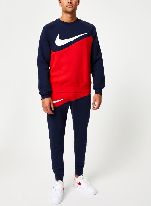 Vêtements Nike Sweat Homme Nike Sporstwear Swoosh Bleu vue bas / vue portée sac