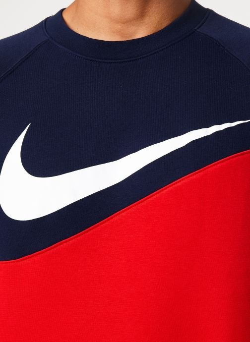 Vêtements Nike Sweat Homme Nike Sporstwear Swoosh Bleu vue face