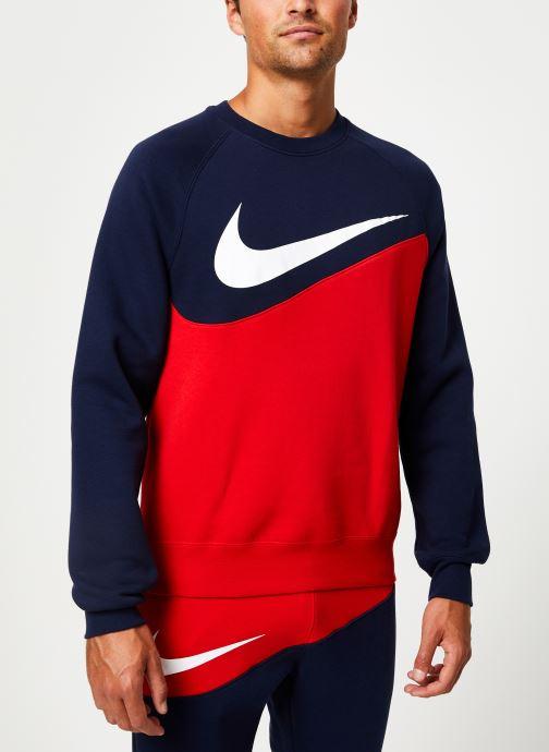 Vêtements Nike Sweat Homme Nike Sporstwear Swoosh Bleu vue droite
