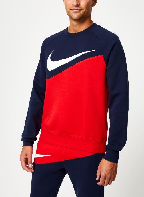 Vêtements Nike Sweat Homme Nike Sporstwear Swoosh Bleu vue détail/paire