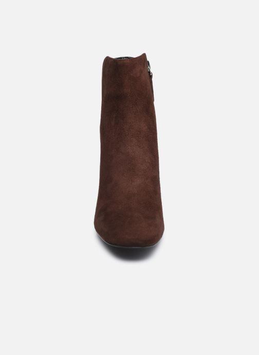 Bottines et boots Aldo GWULIA Marron vue portées chaussures