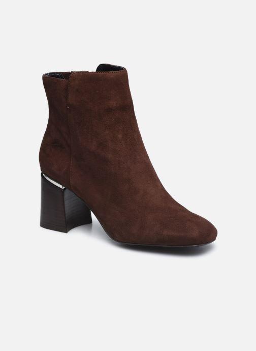Bottines et boots Aldo GWULIA Marron vue détail/paire
