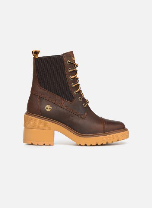 Boots en enkellaarsjes Timberland Silver Blossom Mid Bootie Bruin achterkant