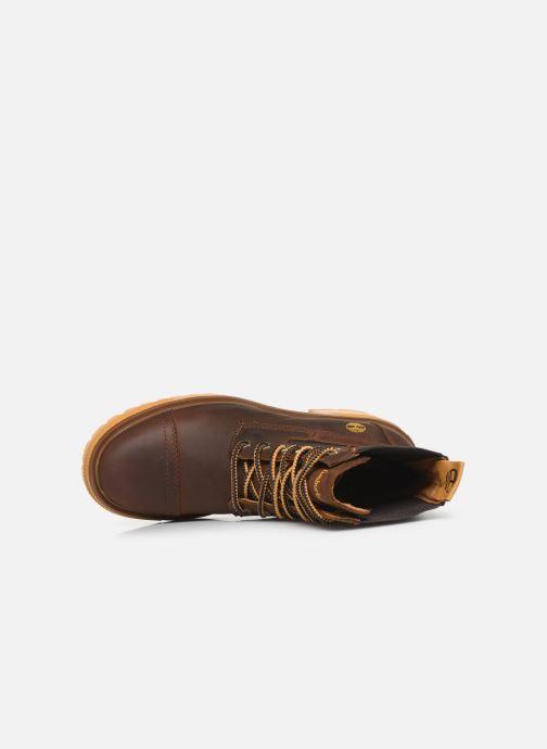 Boots en enkellaarsjes Timberland Silver Blossom Mid Bootie Bruin links