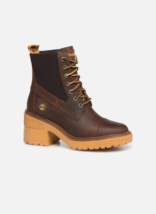 Boots en enkellaarsjes Timberland Silver Blossom Mid Bootie Bruin detail