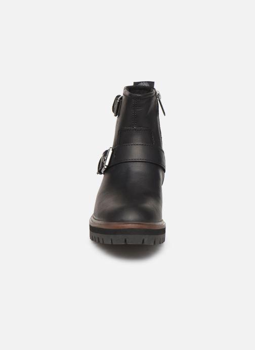 Boots en enkellaarsjes Timberland London Square Biker Zwart model