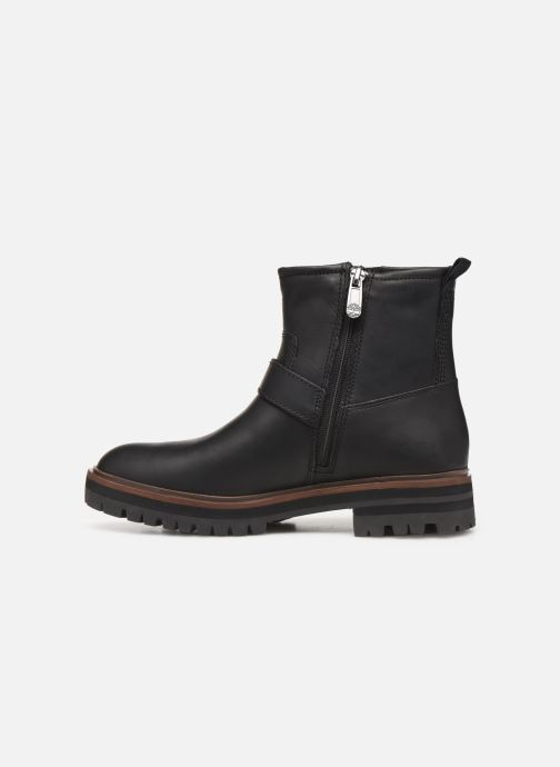 Ankle boots Timberland London Square Biker Black front view