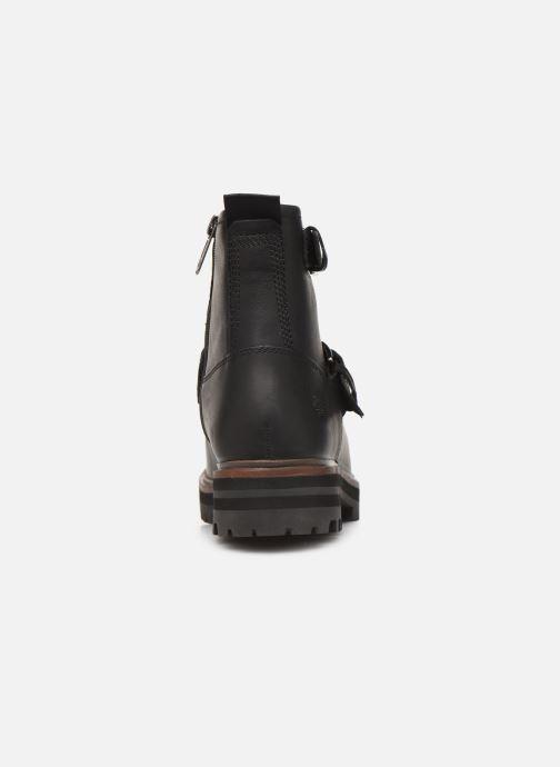 Boots en enkellaarsjes Timberland London Square Biker Zwart rechts