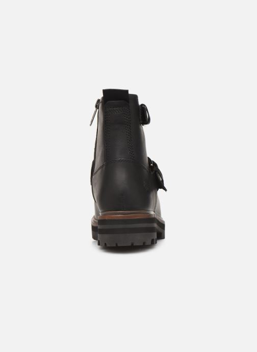 Ankle boots Timberland London Square Biker Black view from the right