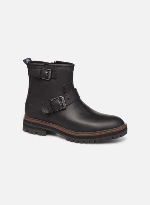 Bottines et boots Timberland London Square Biker Noir vue détail/paire