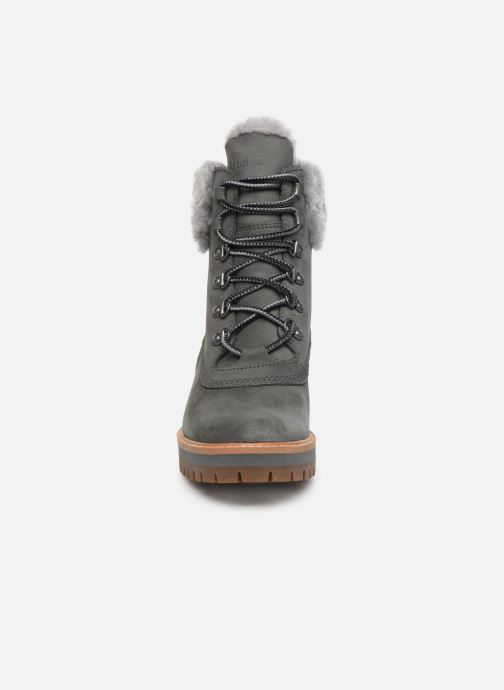 Bottines et boots Timberland Courmayeur Valley WP 6in Gris vue portées chaussures