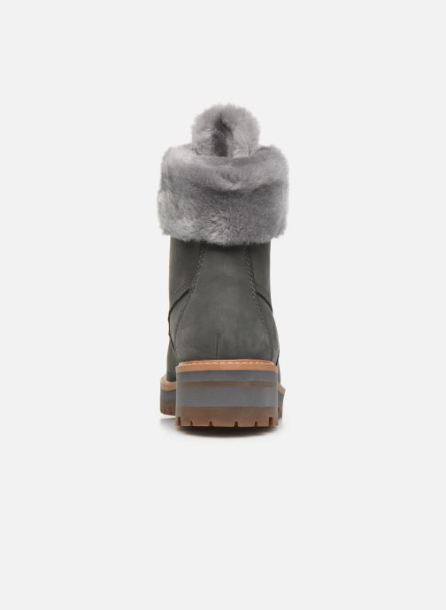 Botines  Timberland Courmayeur Valley WP 6in Gris vista lateral derecha