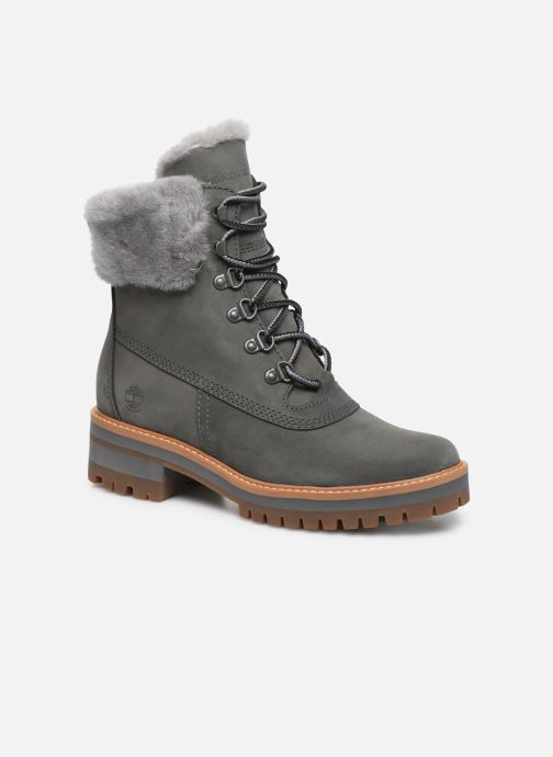 Bottines et boots Timberland Courmayeur Valley WP 6in Gris vue détail/paire