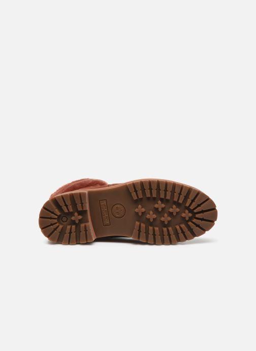 Boots en enkellaarsjes Timberland Courmayeur Valley WP 6in Rood boven