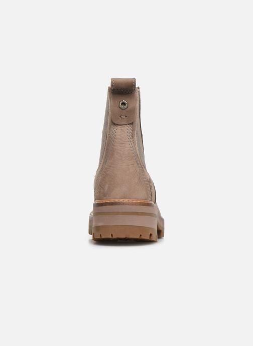 Stiefeletten & Boots Timberland Courmayeur Valley Chelsea beige ansicht von rechts